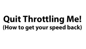 Stop Throttling with a VPN